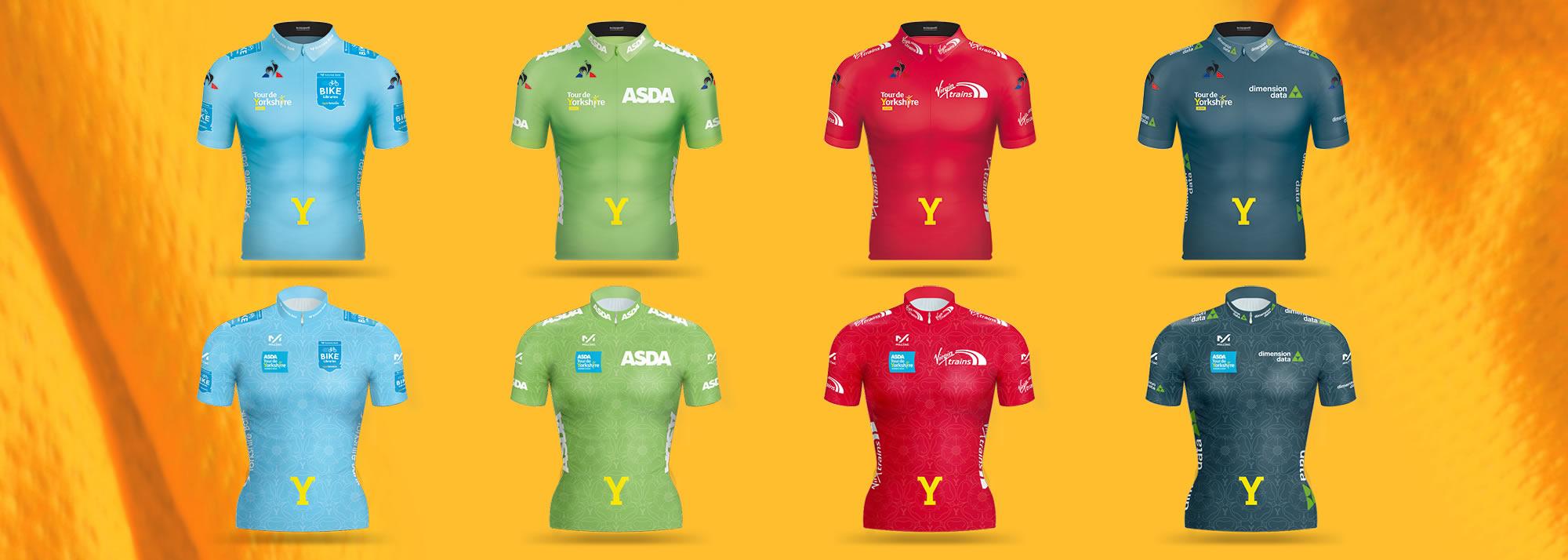 New Tour de Yorkshire jerseys unveiled  758966c9c