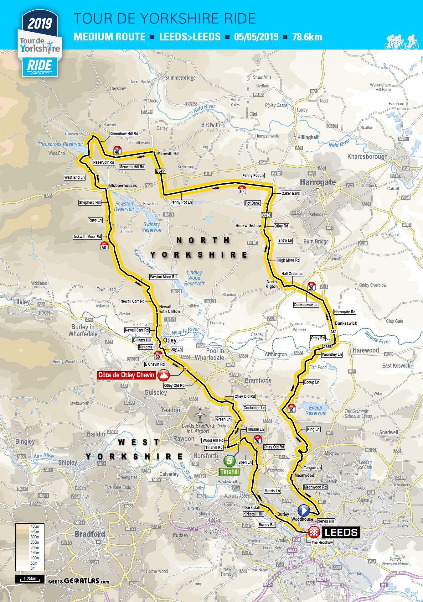 Tour De Yorkshire Ride Tour De Yorkshire 2 5 May 2019
